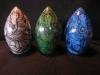 3 buddha eggs 4, 5, 6 Ganesha