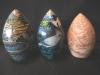 Buddha Eggs  21, 22, 23  outsides